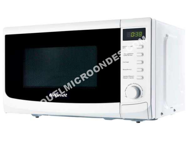 micro ondes brandt ge2031w micro ondes au meilleur prix. Black Bedroom Furniture Sets. Home Design Ideas