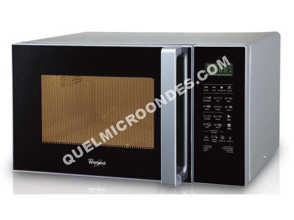micro ondes whirlpool micro ondes multifotion mwo 850 sil au meilleur prix. Black Bedroom Furniture Sets. Home Design Ideas