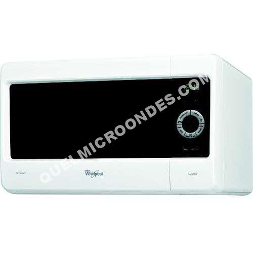 micro ondes whirlpool micro ondes et gril mwa269wh au meilleur prix. Black Bedroom Furniture Sets. Home Design Ideas